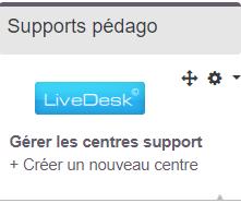bloc Livedesk plugin moodle